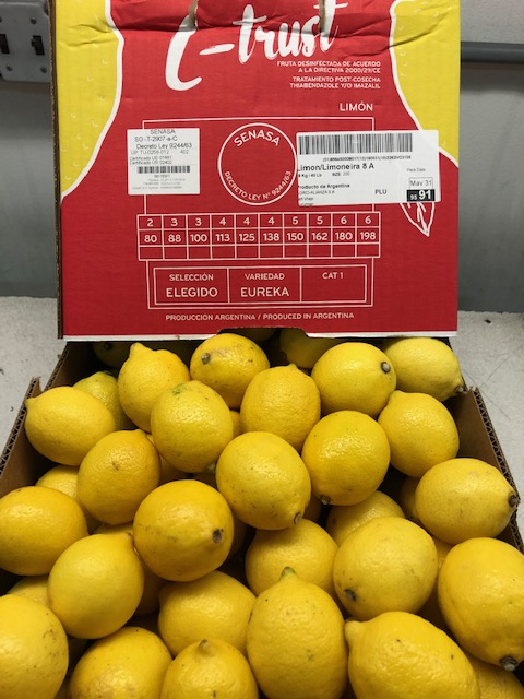 Now Available: Imported Lemons